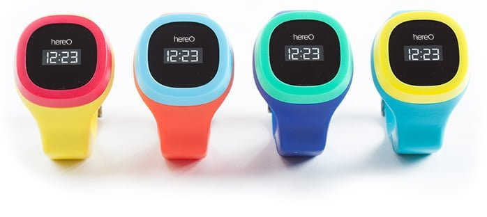 hereO Kids GPS watch